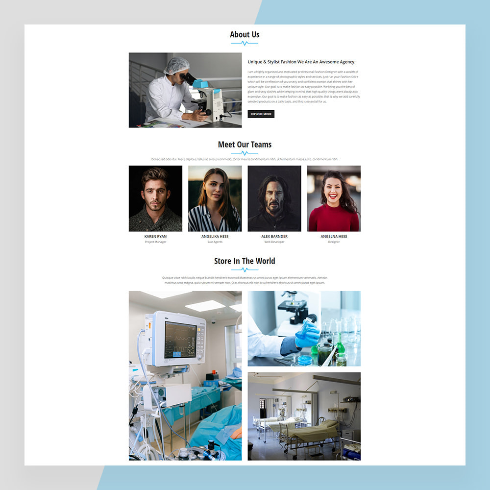 theme - Saúde & Beleza - Medical Solutions - Medical and Medicine Store Template - 3