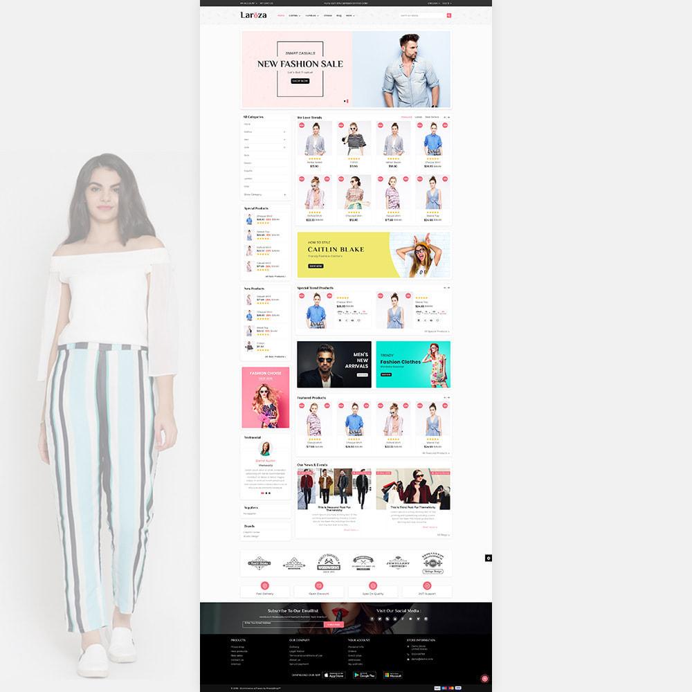 theme - Moda & Obuwie - Laroza - Style Fashion Store - 2