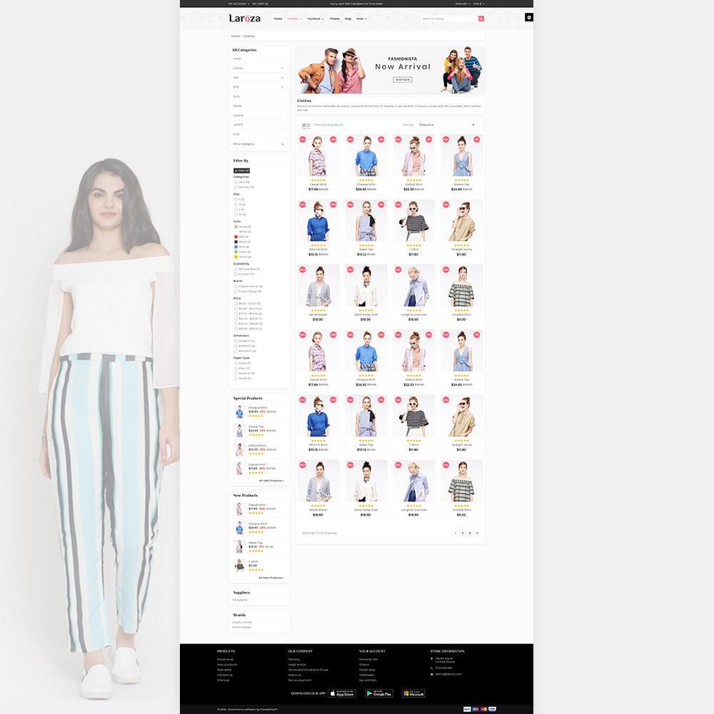 theme - Moda & Obuwie - Laroza - Style Fashion Store - 3