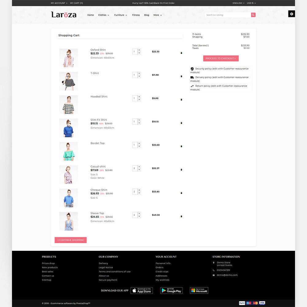 theme - Moda & Obuwie - Laroza - Style Fashion Store - 4