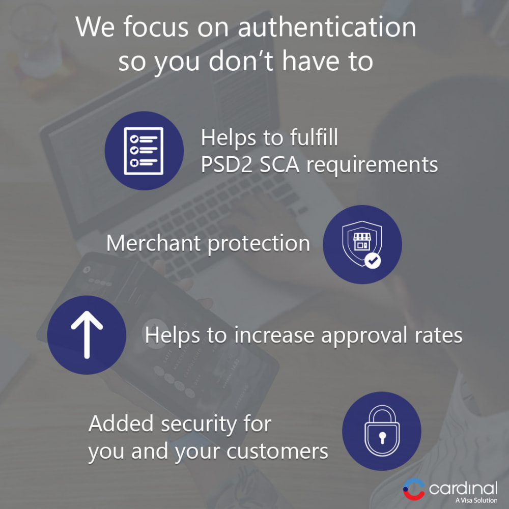 module - Payment by Card or Wallet - 3-D Secure Payment Gateway by Cardinal, a Visa solution - 3