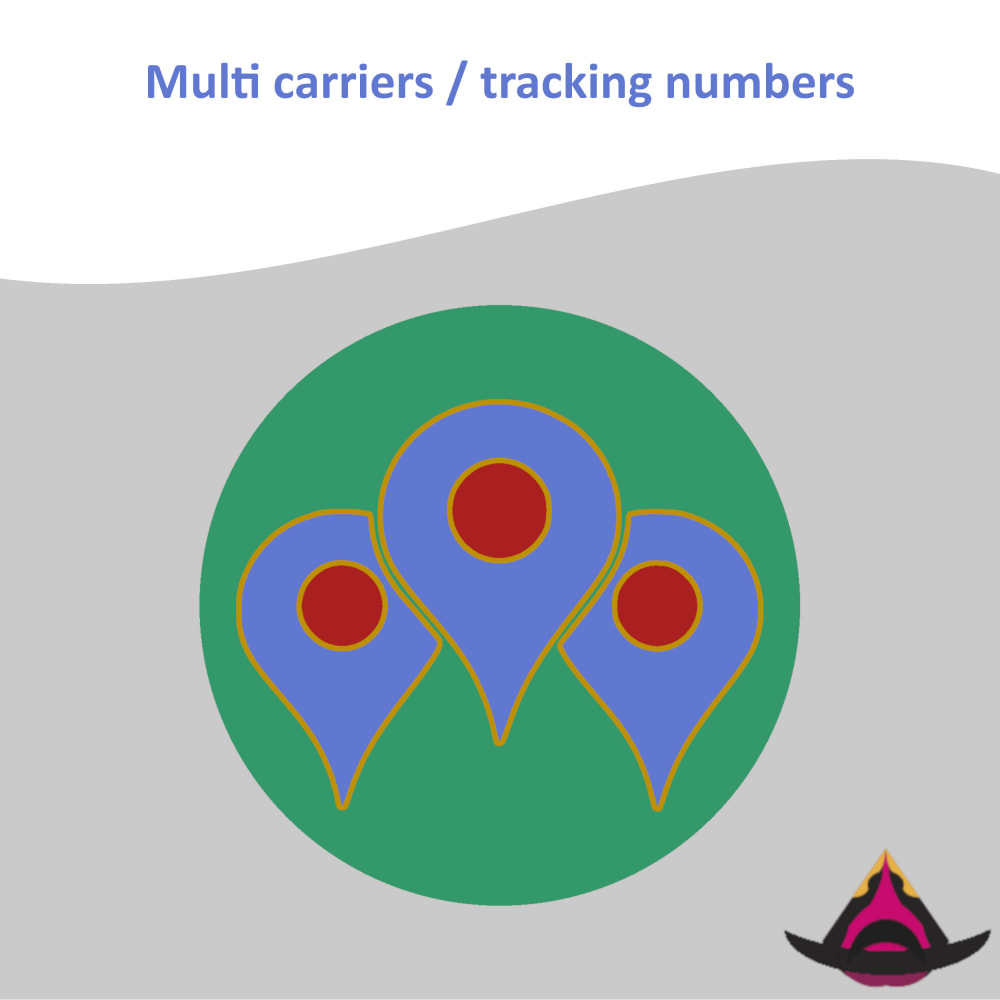 module - Delivery Tracking - Multi carriers / tracking numbers - 1