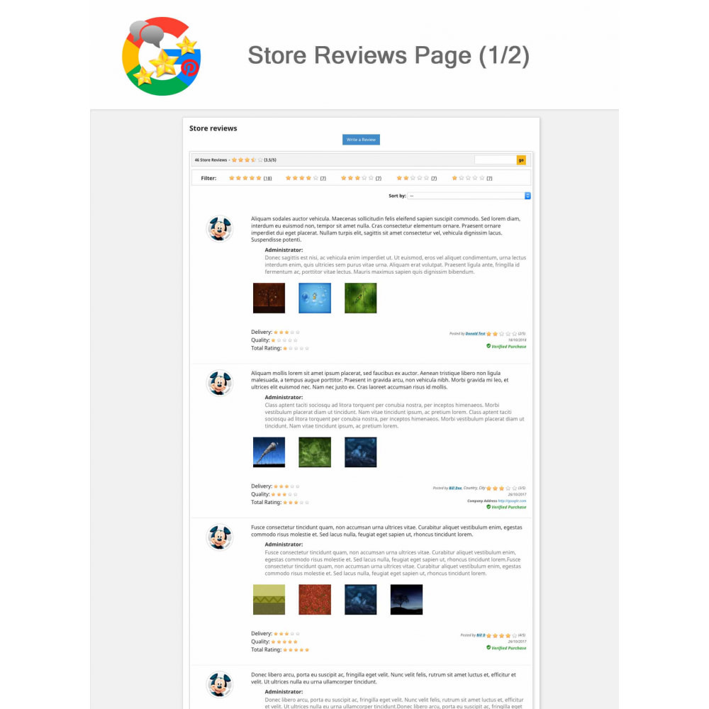 module - Opinie klientów - Product, Shop Reviews, Loyalty Program, Google Snippets - 13