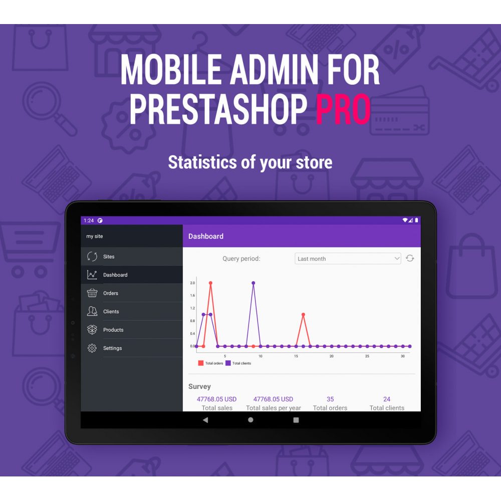 module - Mobile - Mobile Admin Pro Android + iOs - 5