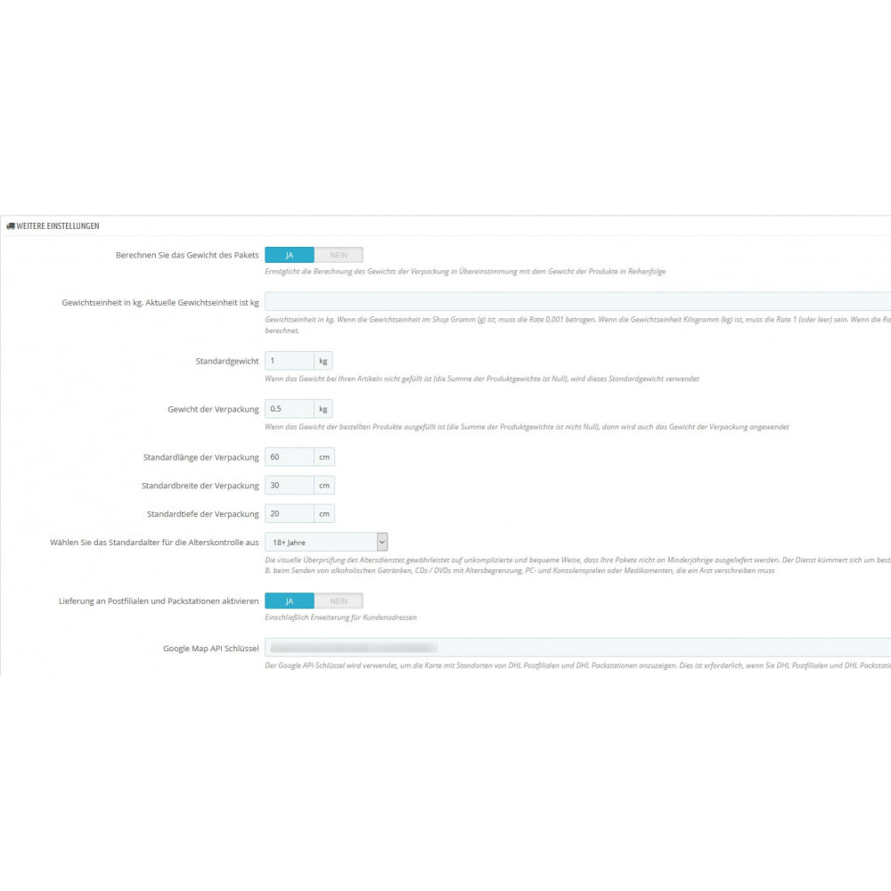module - Transporteurs - DHL Business Portal - 2