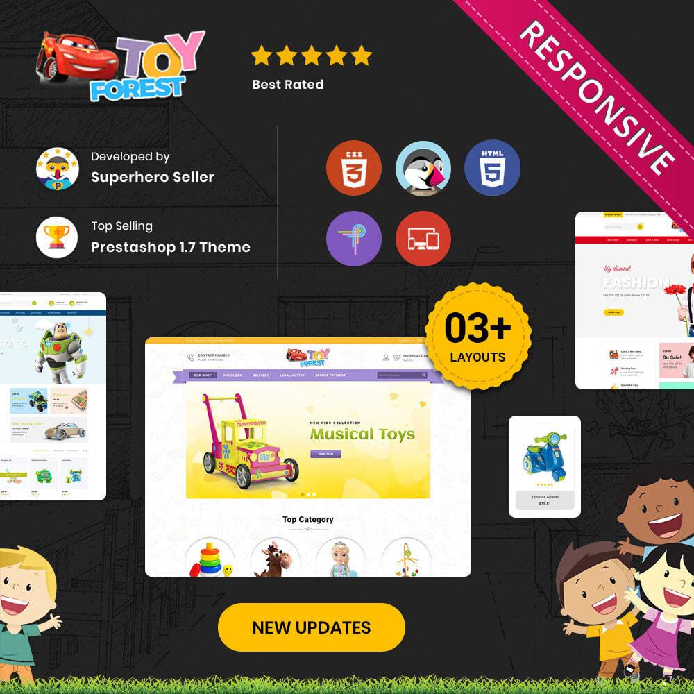 theme - Niños y Juguetes - ToyForest - La tienda Mega Kids - 1