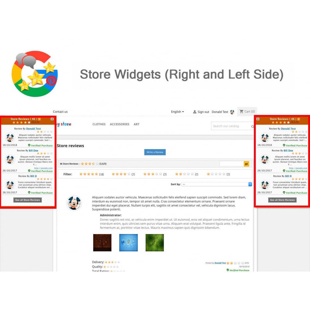 module - Avis clients - Produit+Boutique Avis, Points fidélité, Google Snippets - 19