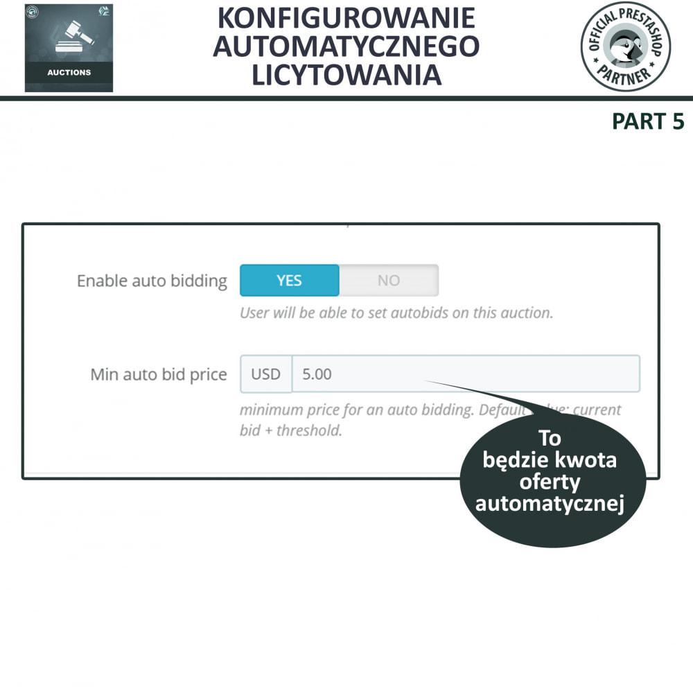 module - Zbuduj stronę aukcyjną - Aukcje Pro, Aukcje i Licytacje Online - 18
