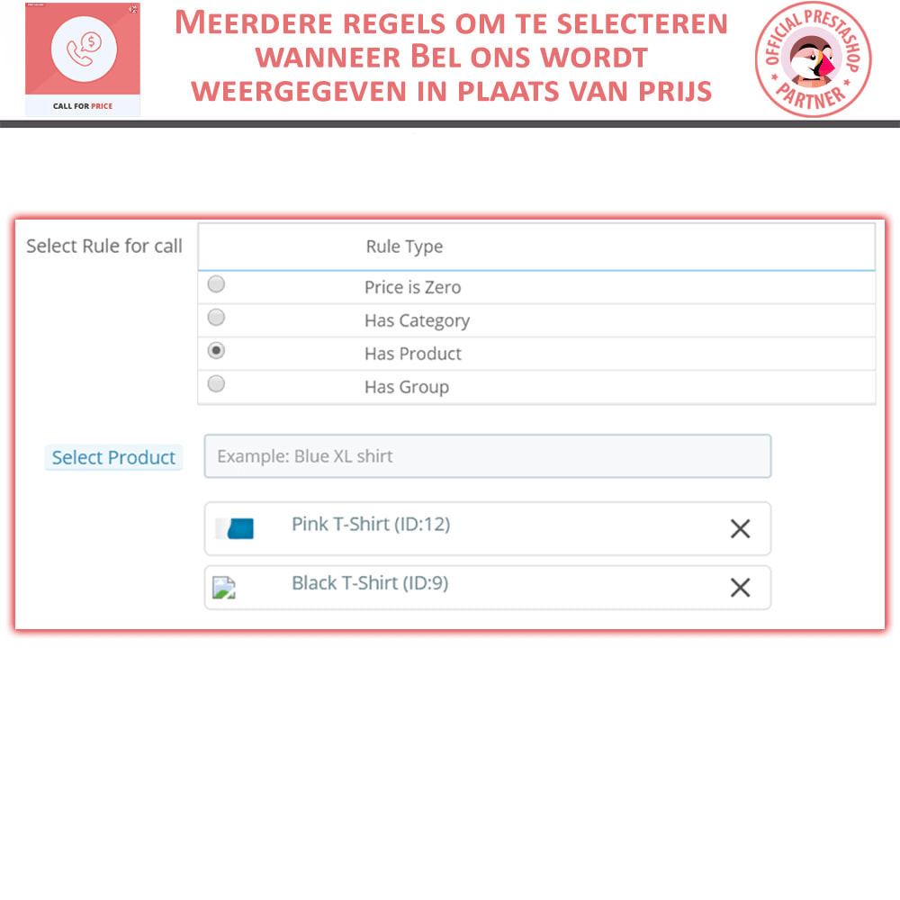 module - Prijsbeheer - Call For Price - Hide Price & Add To Cart - 5