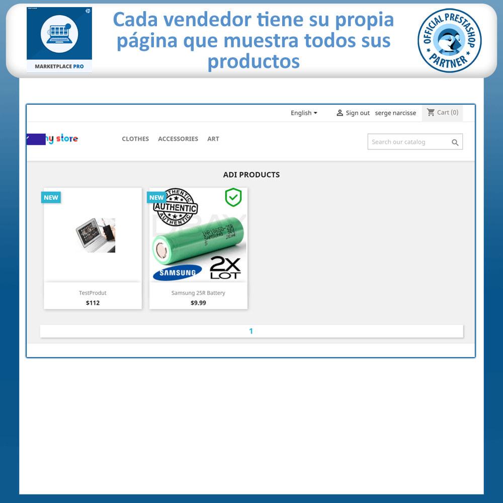 module - Creación de Marketplace - Multi Vendor Marketplace  - Marketplace Pro - 4