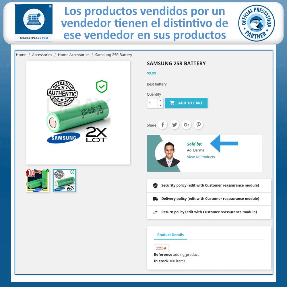 module - Creación de Marketplace - Multi Vendor Marketplace  - Marketplace Pro - 5