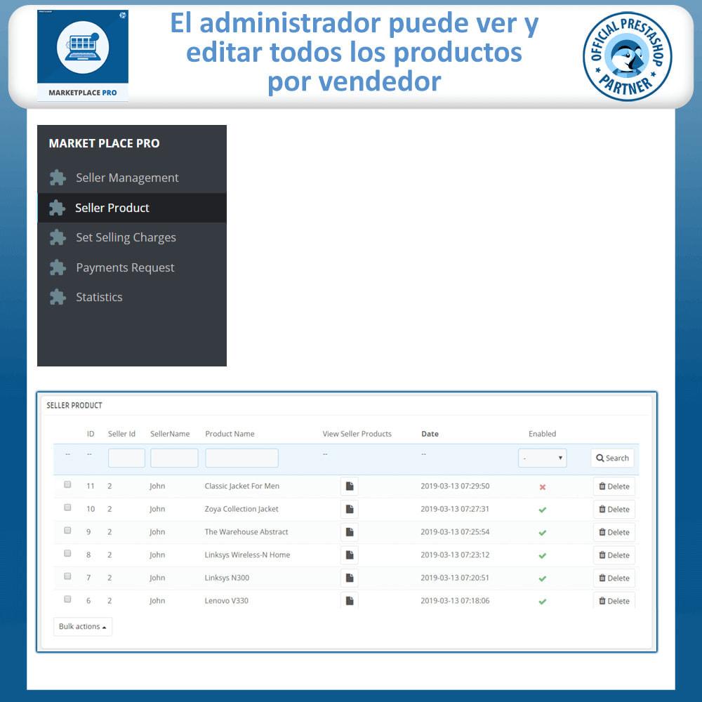 module - Creación de Marketplace - Multi Vendor Marketplace  - Marketplace Pro - 24