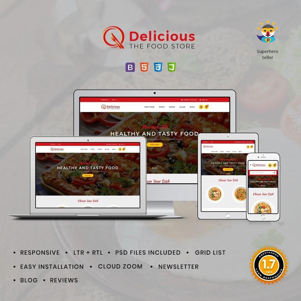 theme - Żywność & Restauracje - Delicious Food & Restaurant Store - 1