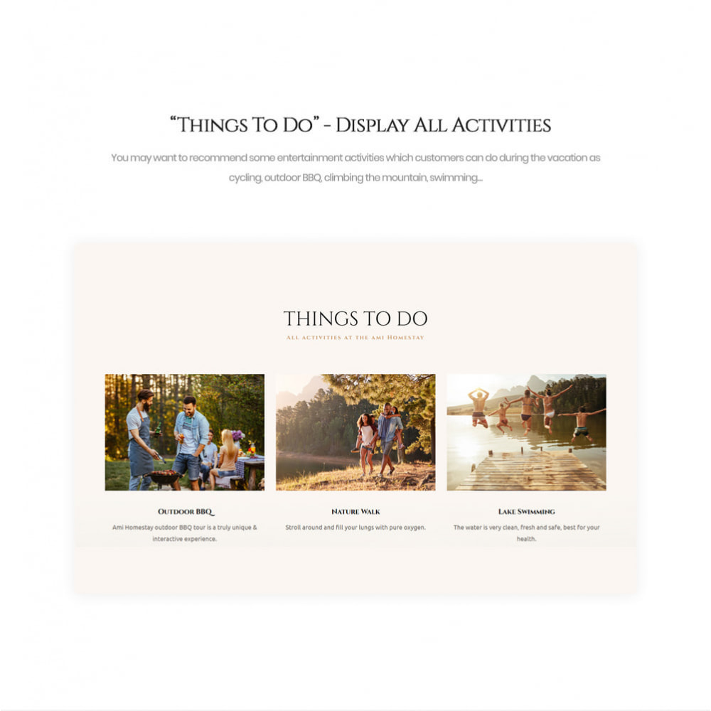 theme - Sport, Loisirs & Voyage - Leo Ami - Booking Service for Villas & Hotels - 7