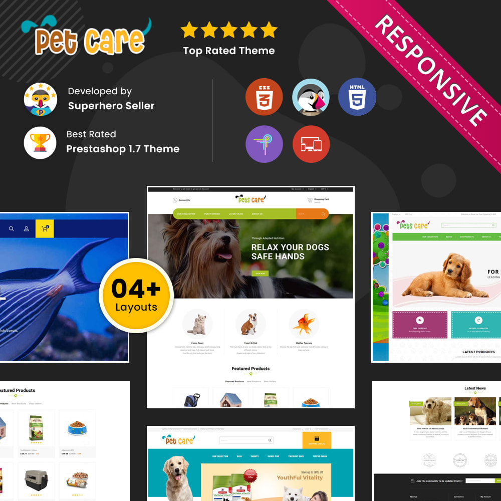 theme - Dieren - Petscare - The Pet Store - 1