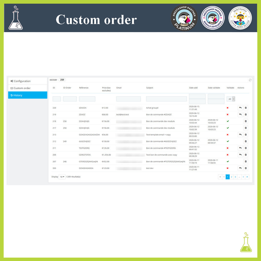 module - Order Management - Custom order - 5