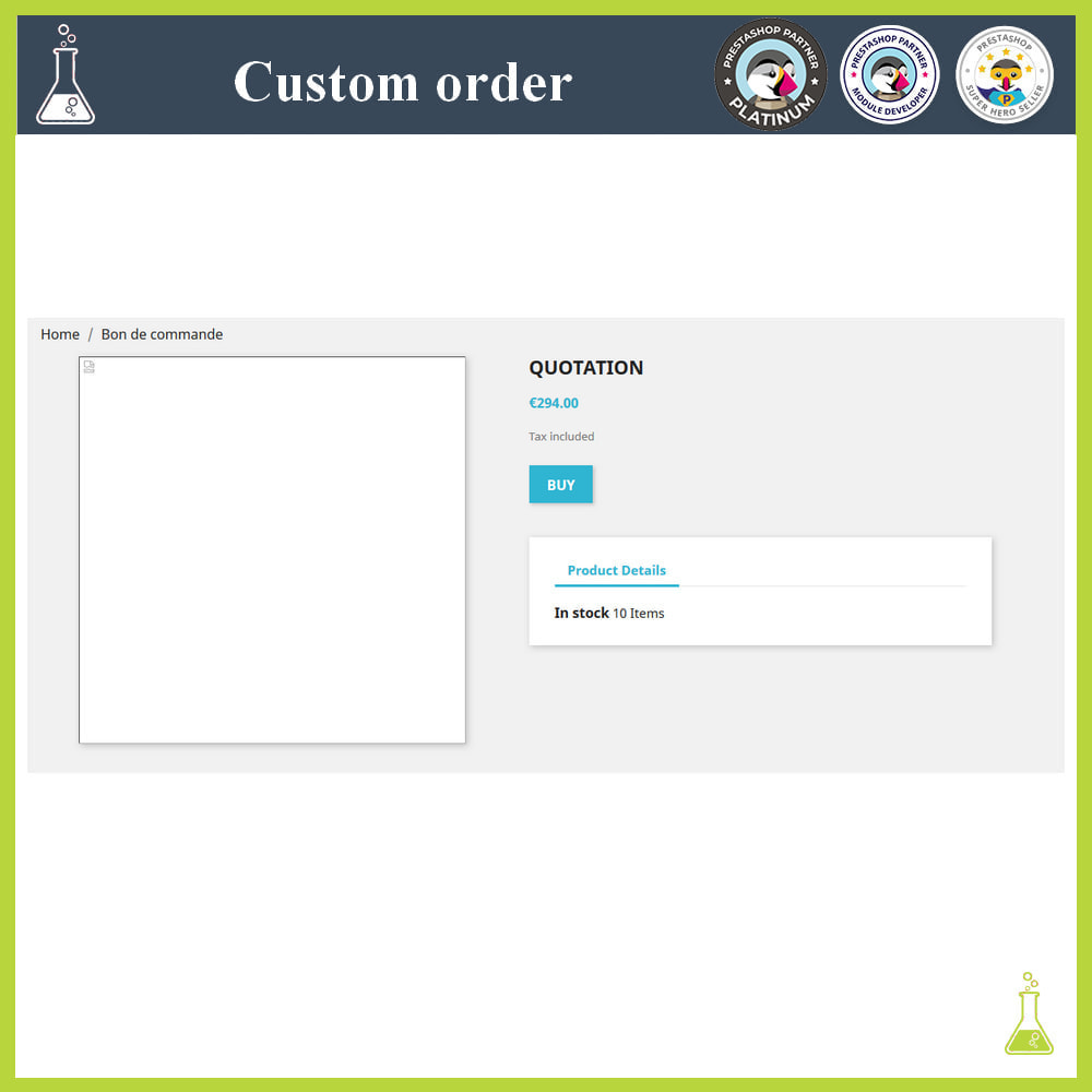 module - Order Management - Custom order - 8