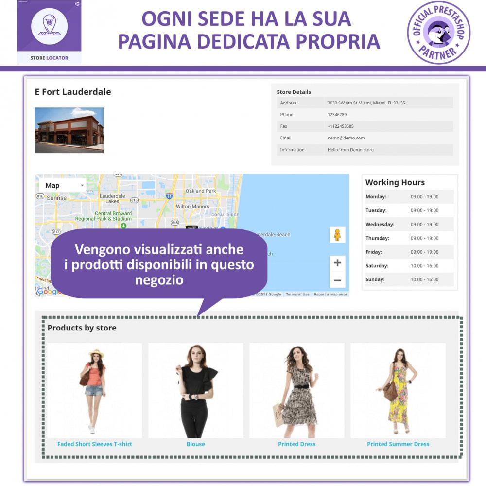 module - Lingue & Traduzioni - Localizzatore Store con Google Maps - 5