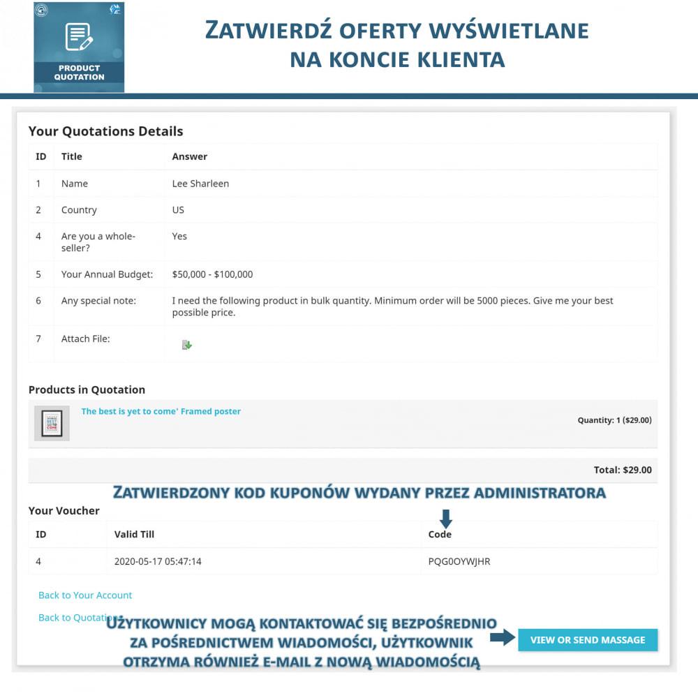 module - Wyceny - Wycena produktu - Pozwól klientowi poprosić o wycenę - 7