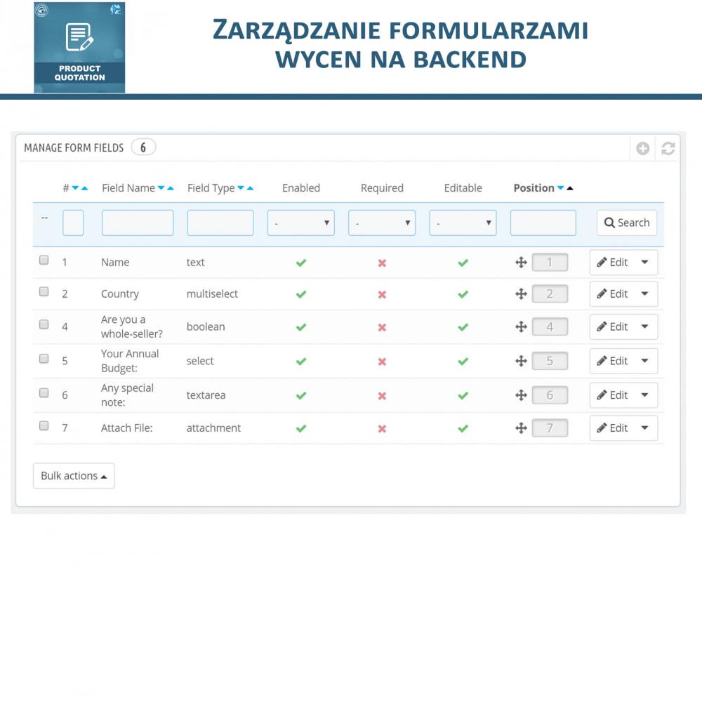 module - Wyceny - Wycena produktu - Pozwól klientowi poprosić o wycenę - 14