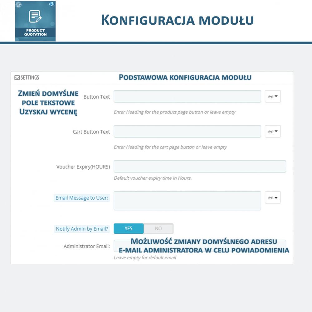 module - Wyceny - Wycena produktu - Pozwól klientowi poprosić o wycenę - 15