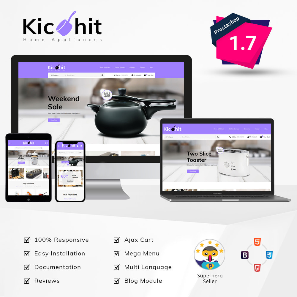 theme - Casa & Jardins - Kichit - kitchen Essential Store - 1