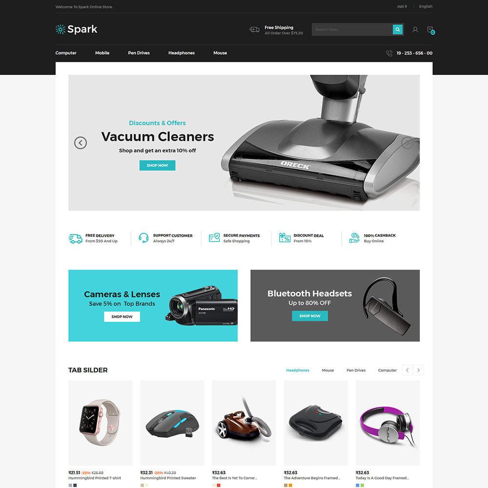 theme - Auto & Moto - Spark Mobile - Negozio di elettronica digitale - 3