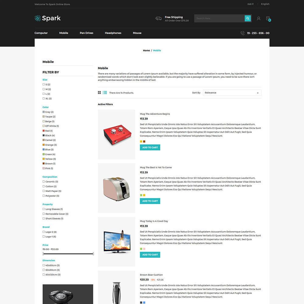 theme - Auto & Moto - Spark Mobile - Negozio di elettronica digitale - 5