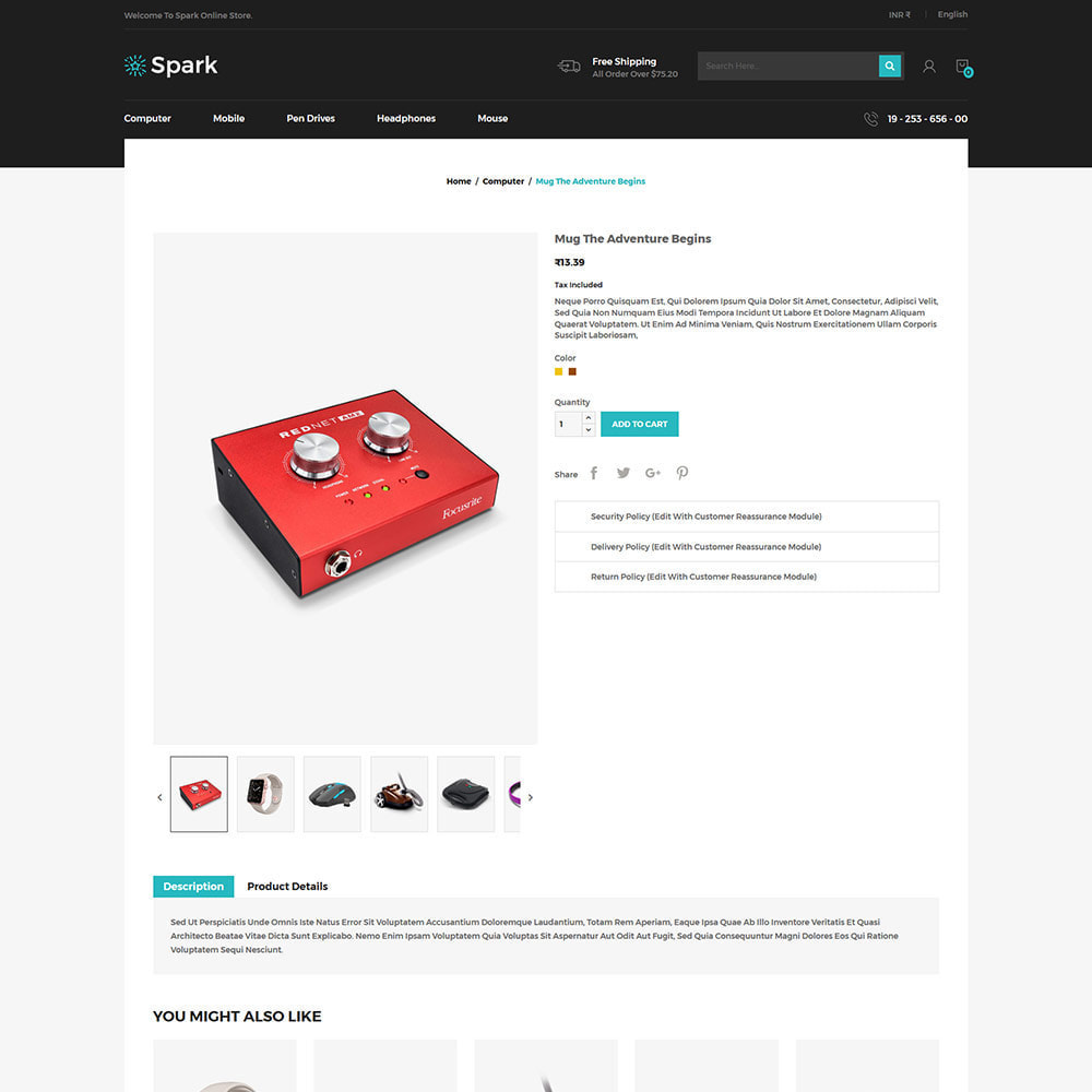 theme - Auto & Moto - Spark Mobile - Negozio di elettronica digitale - 6