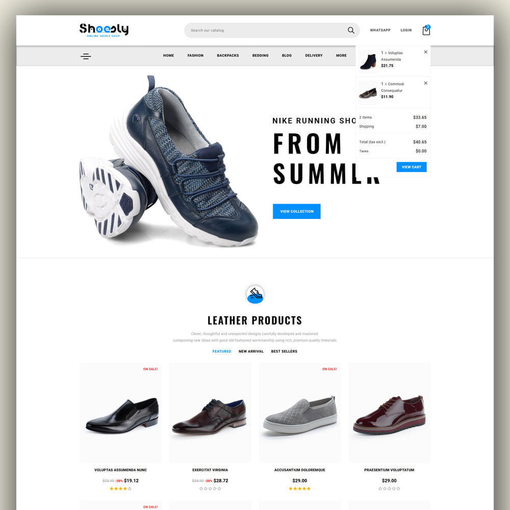 theme - Fashion & Shoes - Shoosly - Shoes Store - 3