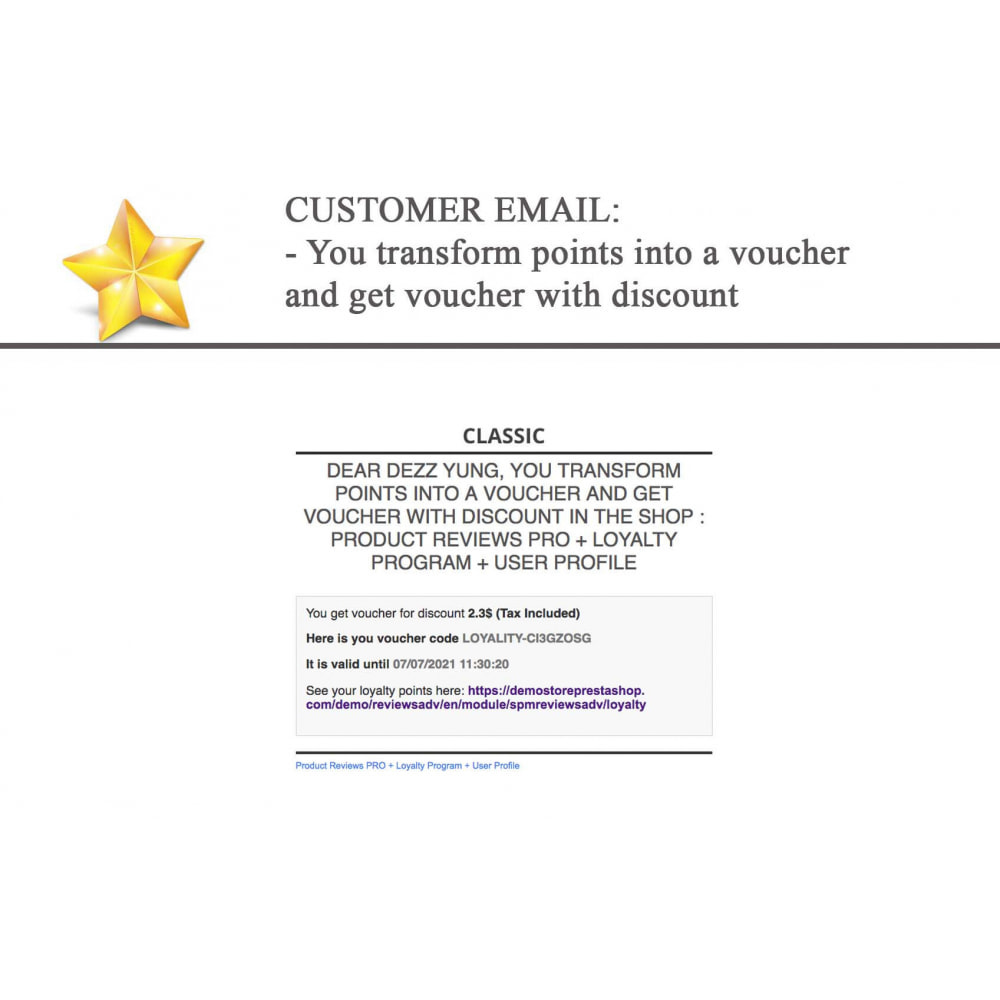 module - Social Widget - Product Reviews PRO + Loyalty Program + User Profile - 28