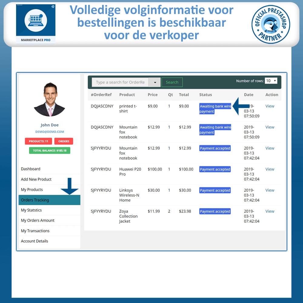module - Marktplaats opzetten - Multi Vendor Marketplace  - Marketplace Pro - 15