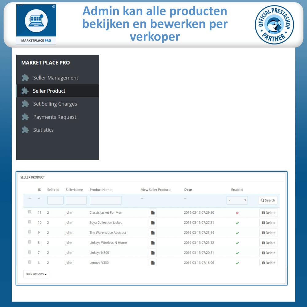 module - Marktplaats opzetten - Multi Vendor Marketplace  - Marketplace Pro - 24