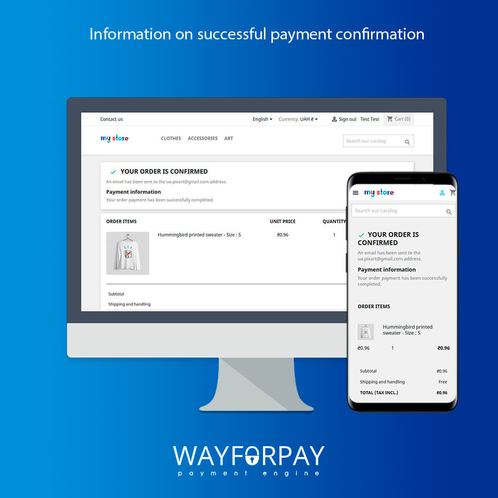 module - Payment by Card or Wallet - WayForPay Payment - 3