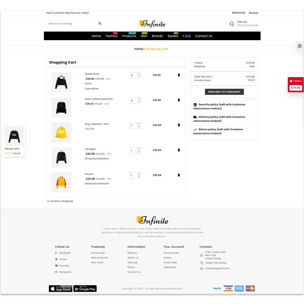 theme - Fashion & Shoes - Infinite Fashion Store - 6