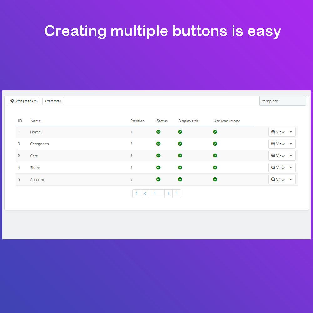 module - Menu - Mobile App Menu & Navigation - 2