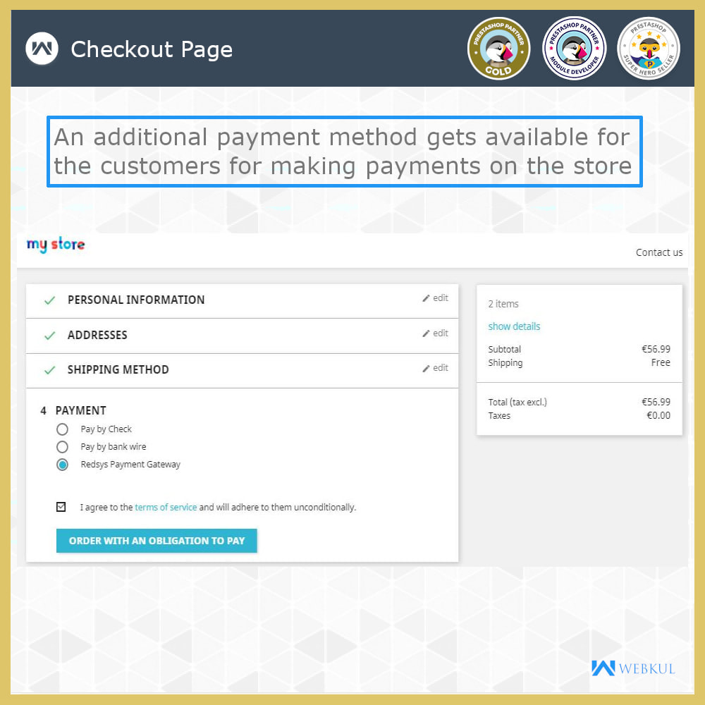 module - Płatność kartą lub Płatność Wallet - Redsys Payment Gateway - 4