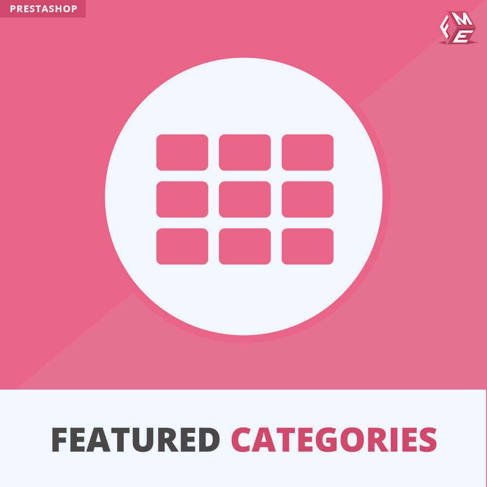 module - Personalisering van pagina's - Uitgelichte Categorieën - 1