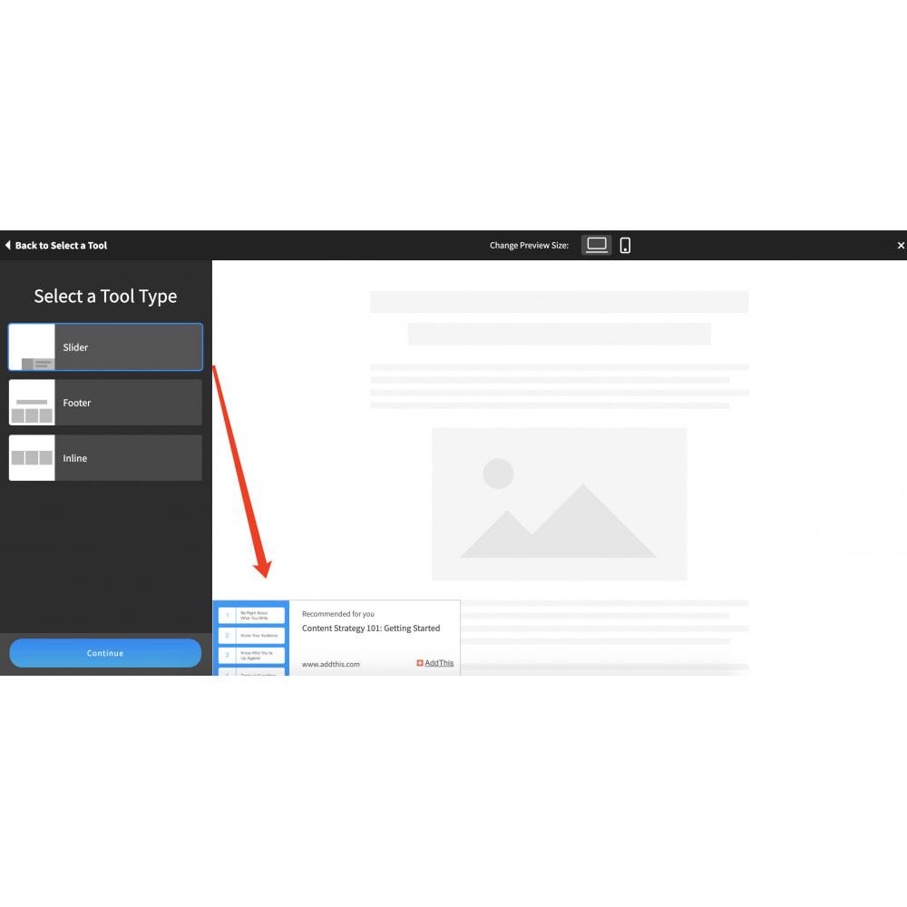 module - Widgets sozialer Netzwerke - Advanced Social Media Share Side Bar Links Buttons - 6