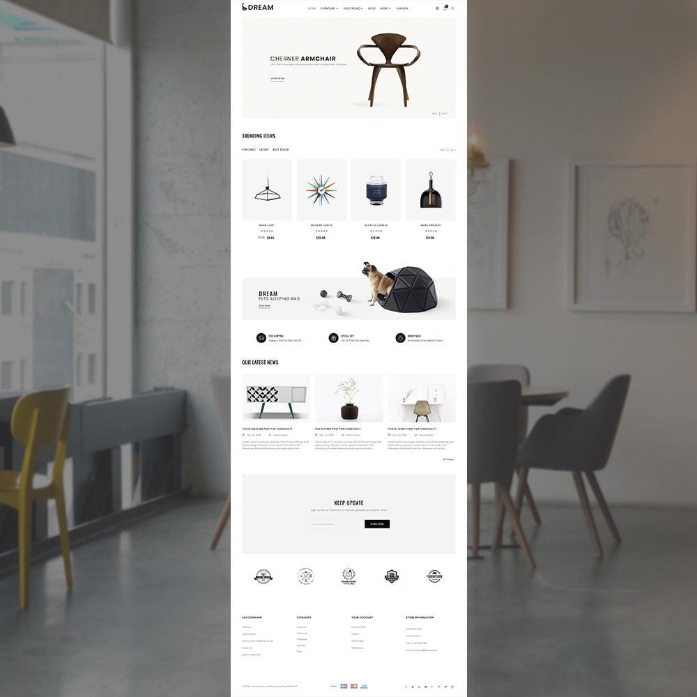theme - Home & Garden - Dream Home Decor Furniture Shop - 2