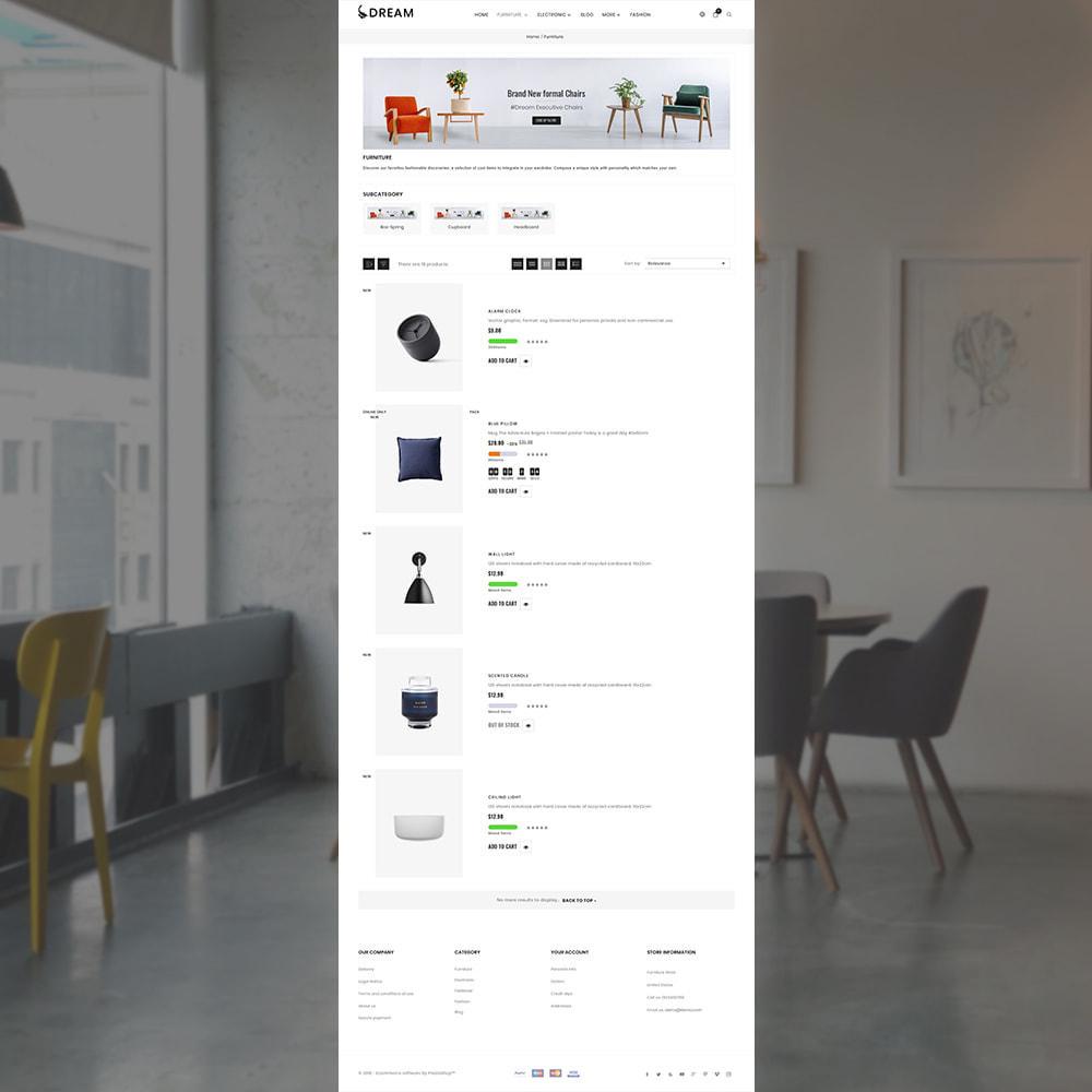 theme - Home & Garden - Dream Home Decor Furniture Shop - 3