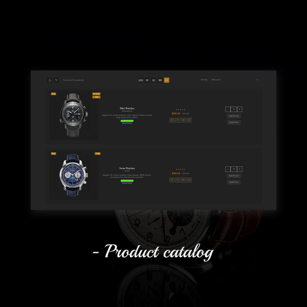 theme - Jewelry & Accessories - Coniver Band Watch Store - 11
