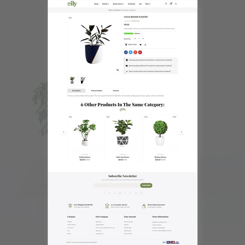 theme - Art & Culture - Eily Pot–Plant Decor Shop - 4