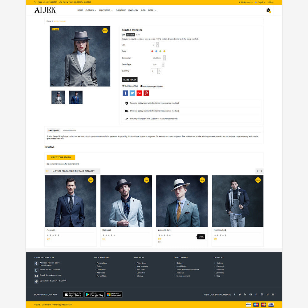 theme - Moda & Calzature - Aijek - Fashion Mega Shop - 4