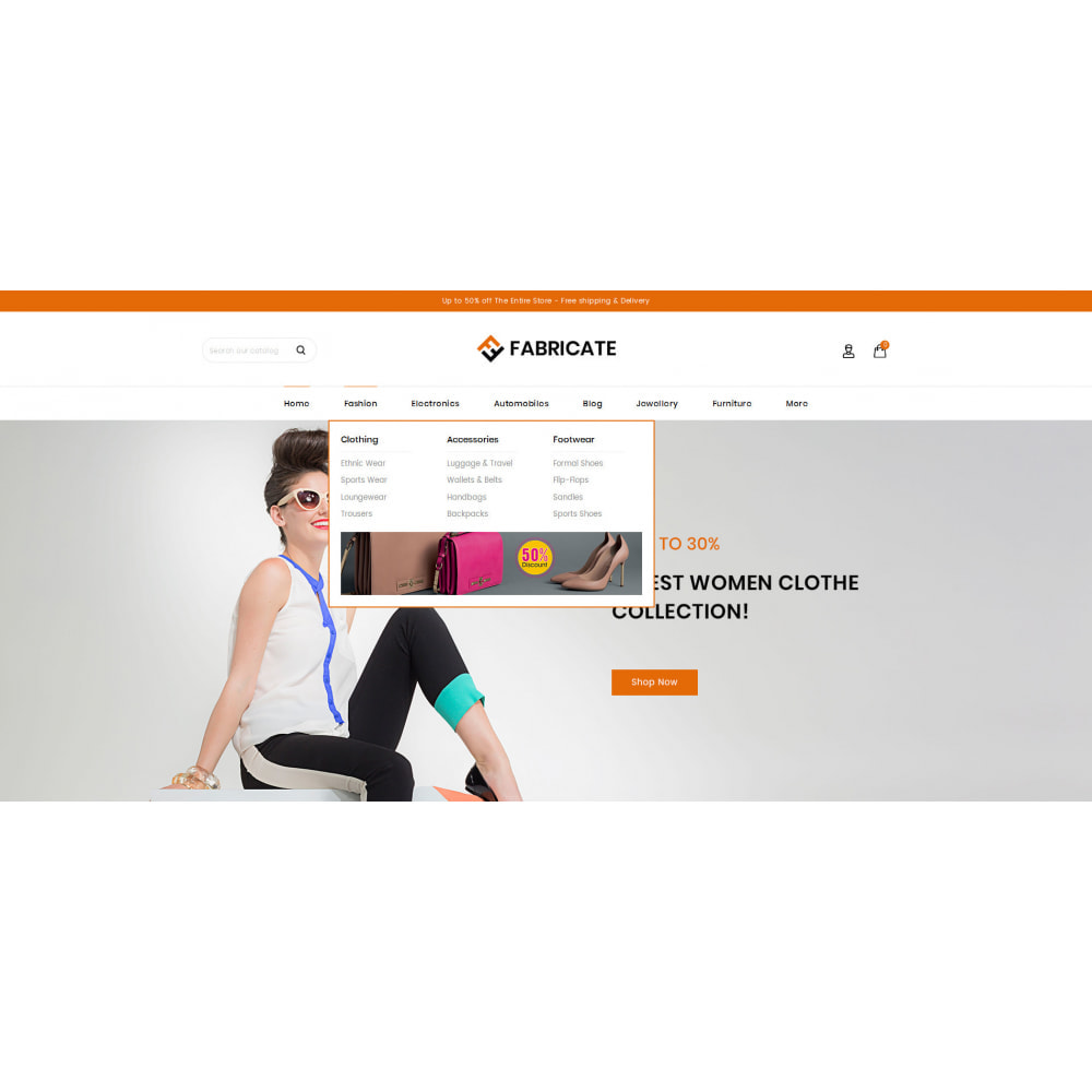 theme - Fashion & Shoes - Fabricate - Apparel Store - 6