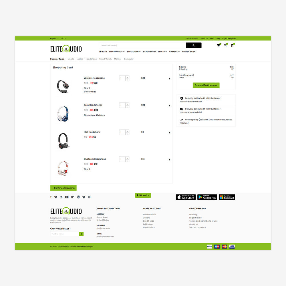 theme - Elettronica & High Tech - Elite Audio – The Electronic Store - 5