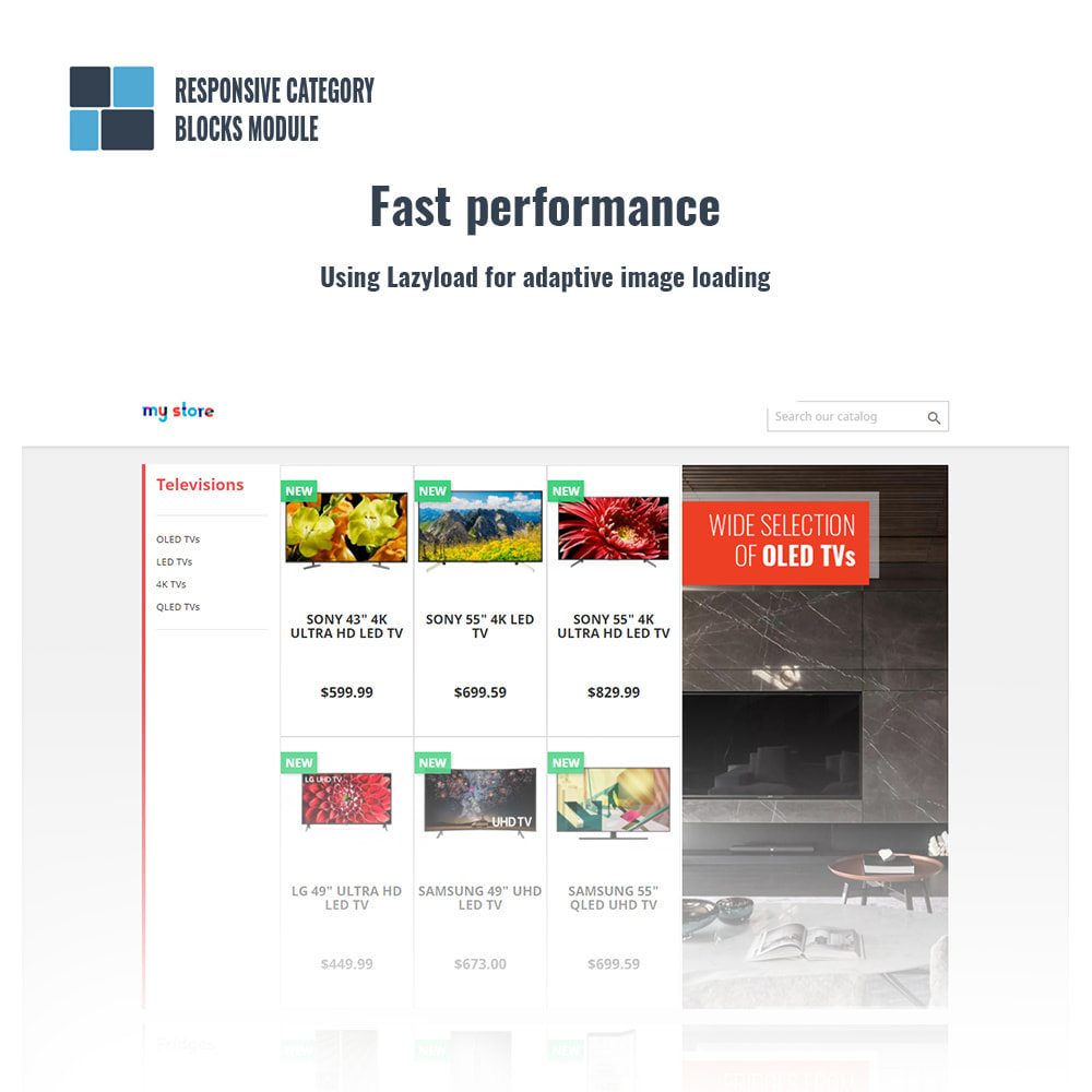 module - Bloques, Pestañas y Banners - Responsive category blocks - 2