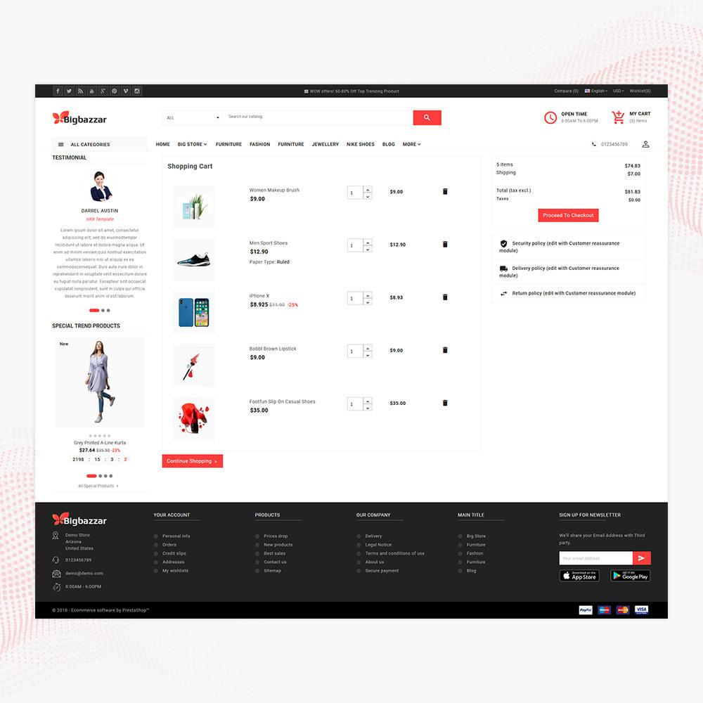 theme - Electronics & Computers - Big Bazzar – Electronic Boost Large Shop - 5