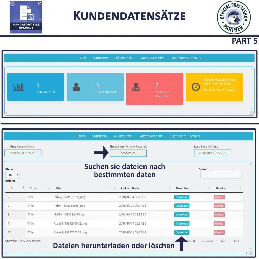 module - Zusatzinformationen & Produkt-Tabs - Obligatorisches Hochladen Von Dateien - 9