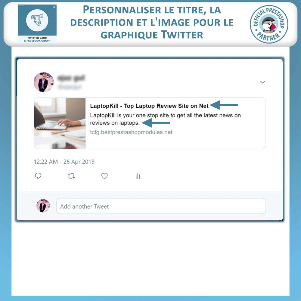 module - Widgets réseaux sociaux - Carte Twitter et Graphique des Médias Sociaux - 3